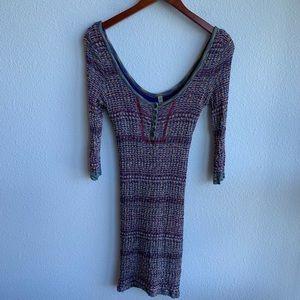 Free People | Knit Bodycon Dress | S